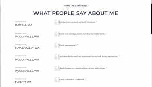 Testimonial page4