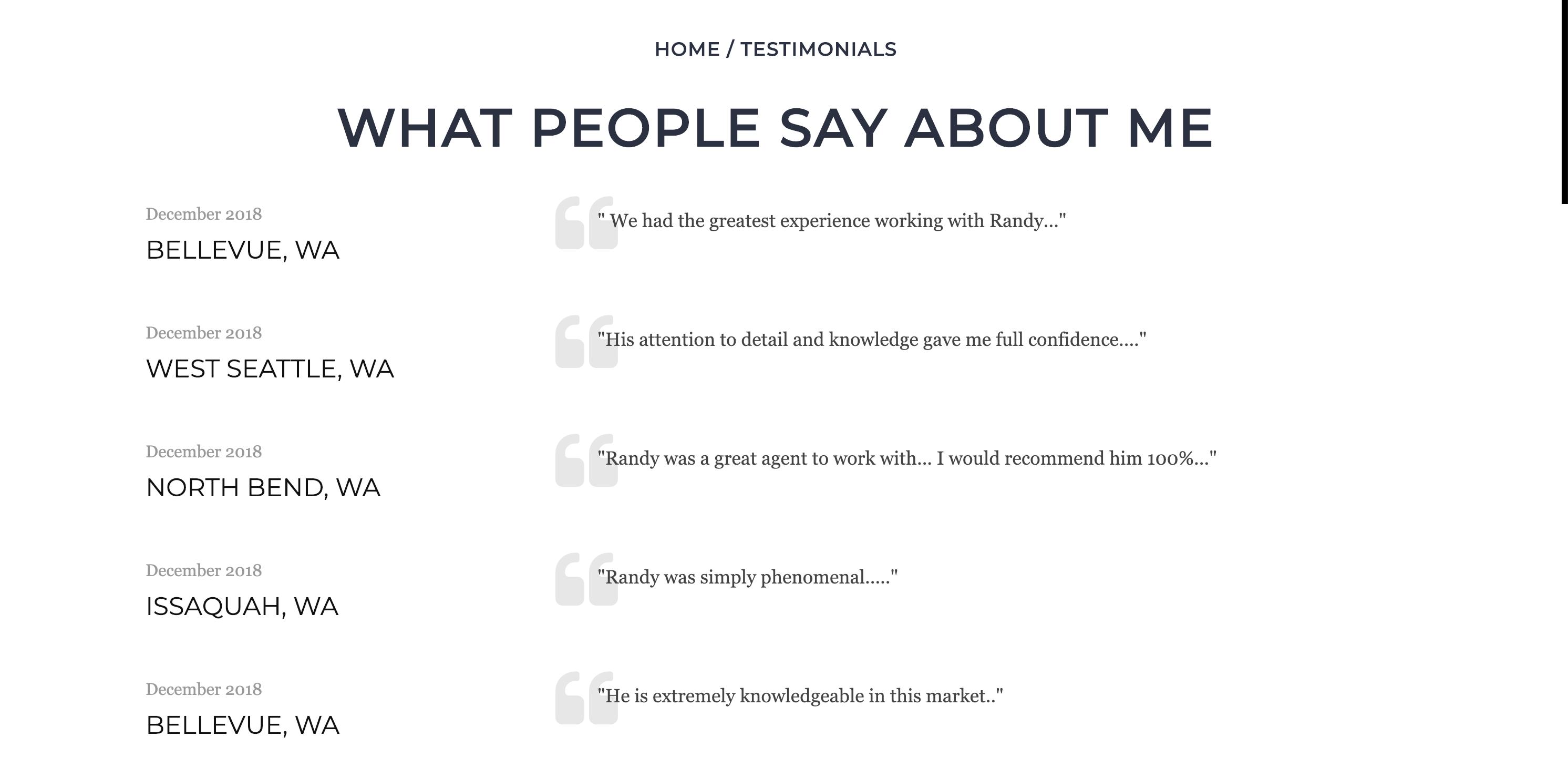 Testimonial page5